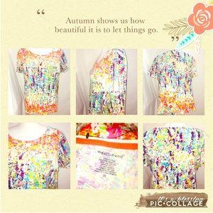 🎨Westbound Vibrant Artsy Style Pocket Tee🎨